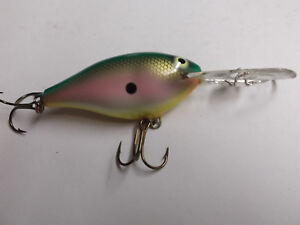 Details about  /Custom Painted Rapala Risto Rap,RR-7,Spring Bayou