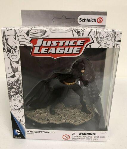 Schleich Justice League Action Figure #08 Batman #22502 Hand Painted NIB