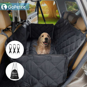 Housse-de-siege-couverture-protection-Arriere-Voiture-pour-Chien-Pet-Animal-NOIR