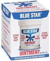 2 Pack Blue Star Anti-itch Medicated Ointment 2 Oz Each on sale