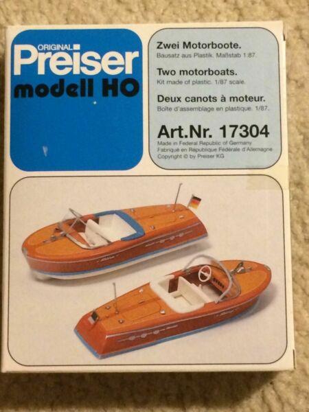 Bausatz Preiser 17304 Motorboote