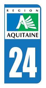 Logo-De-Plaque-Immatriculation-Dordogne-24-034-FABRICATION-FRANCAISE-034