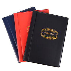 Russian-Coin-Album-10-Pages-120-Pockets-Coin-Collection-Book-Coin-Holder-Album-T