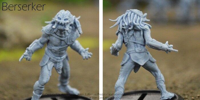 PRODOS Avp Deprojoador Berserker en miniatura de exclusiva limitada Kickstarter