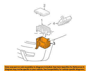 s l300 toyota oem 05 15 tacoma electrical fuse & relay box lower cover