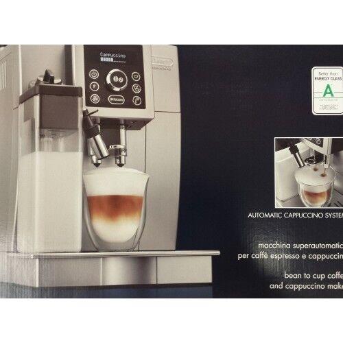 DeLonghi ECAM 23.466.S silber Kaffeevollautomat Vollautomat Espresso NEUWARE