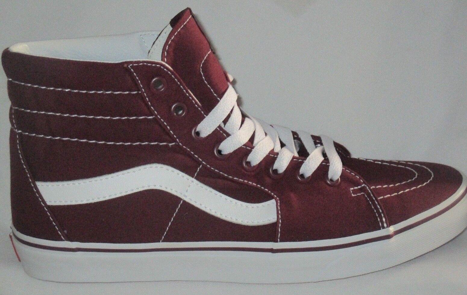 Homme VANS SK8-HI  (CAMVAS)   PORT ROYALE VNOA38GEJX5  SKATEBOARD Chaussures Taille 10