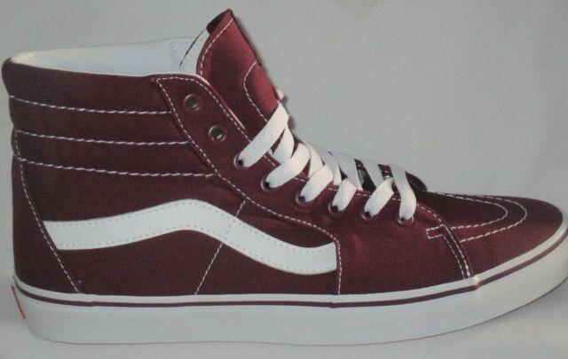 ec7287847a VANS Sk8-hi Vn0a38gejx5 Port Royale Canvas Casual Shoes Medium (d M) Men  Reds 10