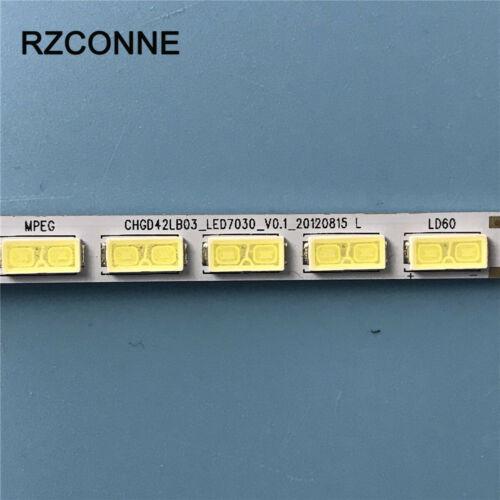 LED Strip CHGD42LB03/_LED7030 //7030PKG 60ea for LG 42LS5600 42LS570S T420HVN01.0