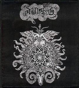 A.M.S.G Goat Patch Cultes Des Ghoules Black Metal Blasphemy Revenge Conqueror
