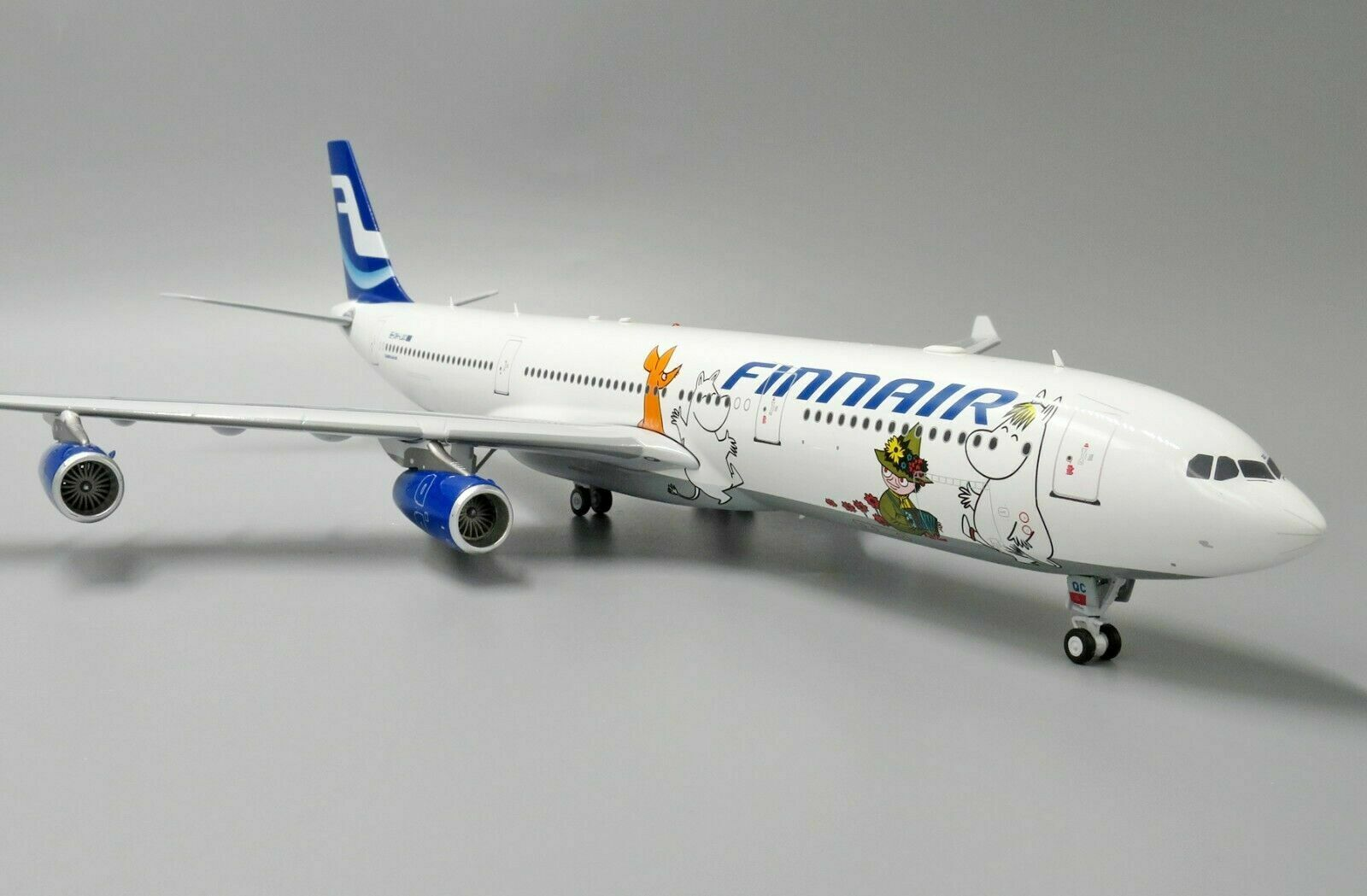 Inflight 200 If343ay002 1 200 Finnair Airbus A340-300 Moomins Oh-Lqc avec Pied
