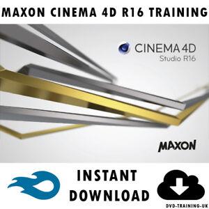 Maxon Cinema 4D R16 – Professional Video Training Tutorial