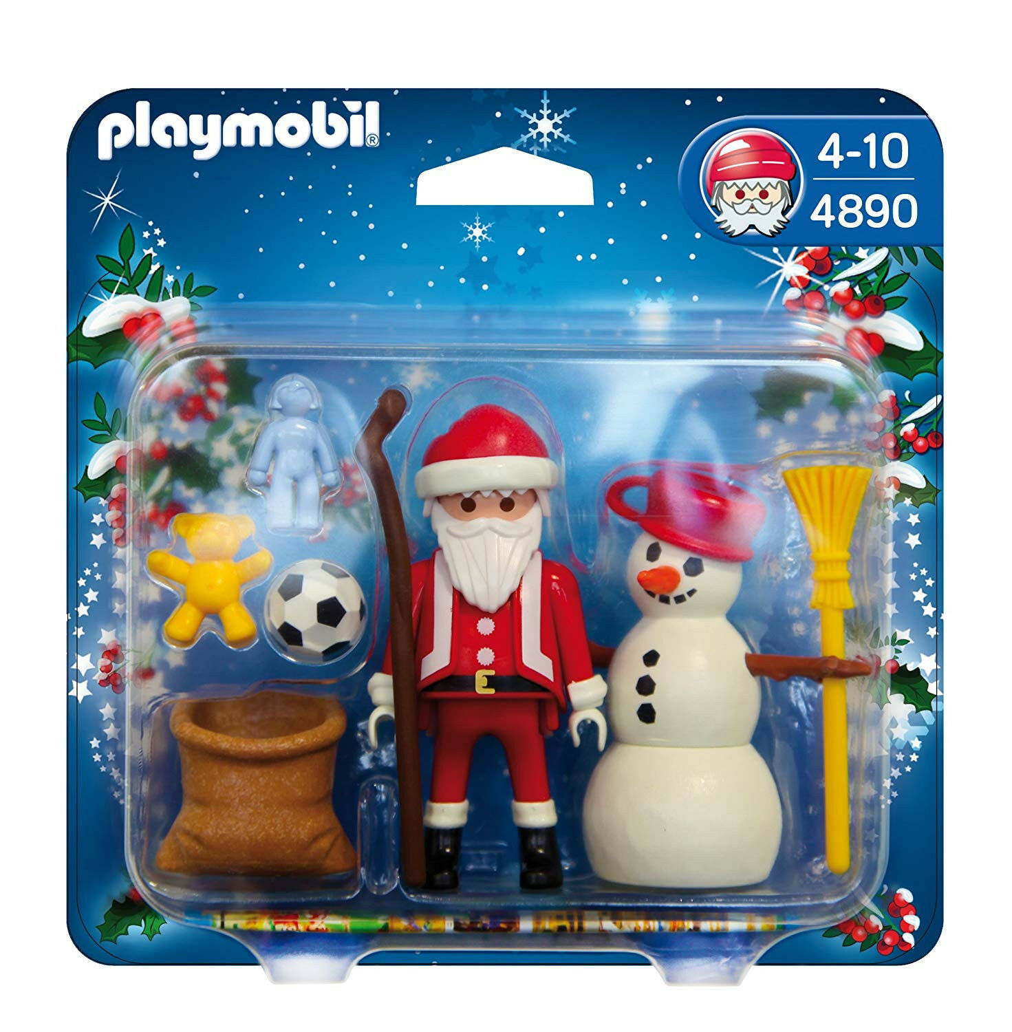 Playmobil 4890 Christmas Santa Claus with Snowman