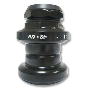 Stronglight-A9-1-034-Threaded-Steel-Road-Bike-Headset-Black