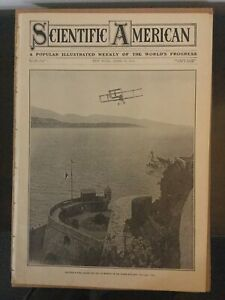 Early Aviation - Airplane - 1910 SCIENTIFIC AMERICAN Magazine