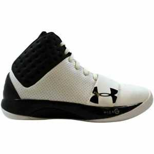 Under-Armour-TB-Micro-G-Funk-White-Black-Silver-1237731-105-Men-039-s-Size-7-5