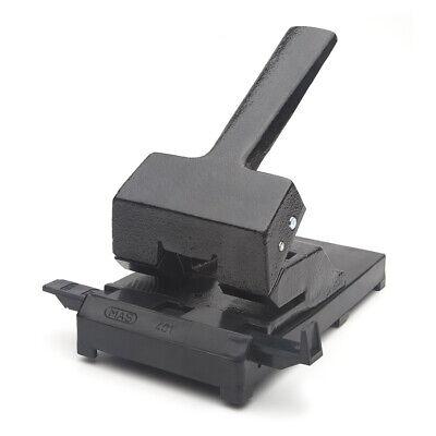 schwarz 60 Blatt mit Anschlagschiene MAS 401 Locher aus Eisen