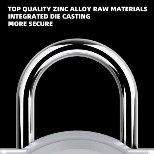 Fingerprint Padlock Smart Lock Anti-Theft Bio-metric Security Door Gym Locker