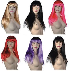 Kleidung & Accessoires Ehrlich Damen Perücke Sexy Glatt Cosplay Kostüm Party Langhaar Damenperücke Wig Billigverkauf 50%