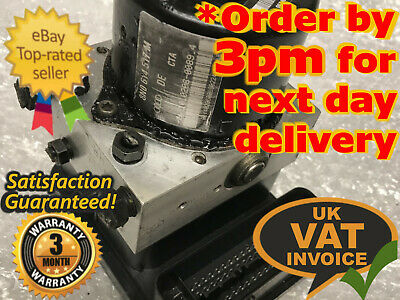 VW PASSAT AUDI A4 SKODA SUPERB ABS PUMP MODULE UNIT 4B0614517G  0265225124