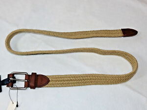 Polo-Ralph-Lauren-belt-Men-039-s-size-40-40-105-Natural-405602821001-leather-ends