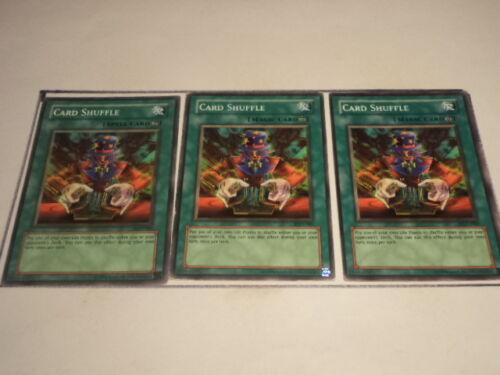 3X Card Shuffle PGD-080 3 Playset Yugioh Yu Gi Oh