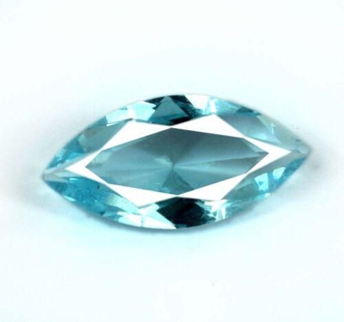 100/% Natural 1.90 Ct Marquise Aqua Blue Aquamarine Loose Gemstone Certified DA64