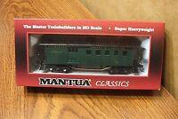 Mantua Classics At&sf 1890 Combine Wooden Passenger Car 205 Ho Scale