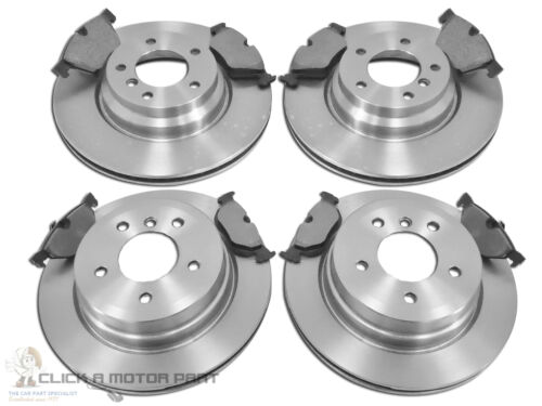 BMW 1 SERIES 123d E82 2007-2012 FRONT /& REAR BRAKE DISCS AND PADS SET NEW