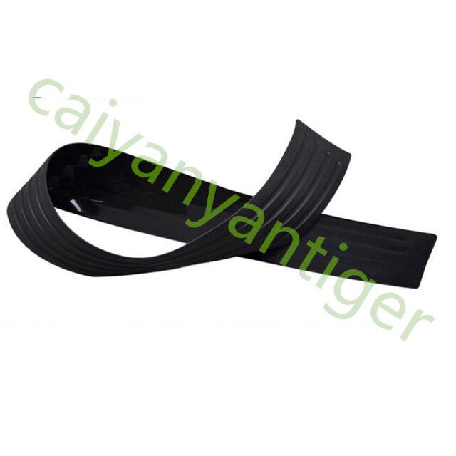 35*3 inch Black Rubber Car SUV Rear Bumper Protector Trim sill plate guard cover