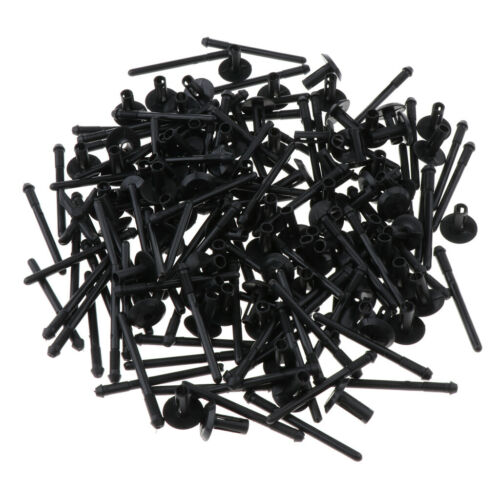 200Pack Blind Rivet,Fender Flare Rocker Moulding Clip,Bumper Shield Retainer