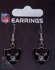 Oakland Raiders Logo Earrings