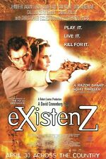 Existenz movie poster - Jude Law, David Cronenberg  - 10 x 15 inches