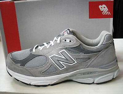 NEW BALANCE MENS 990 RUNNING SHOES - SNEAKERS- GRAY- #M990GL3-2E WIDTH-NEW  NEW