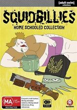 Squidbillies - Home Schooled Collection : Vol 1-3 (DVD, 2014, 5-Disc Set) Reg 4