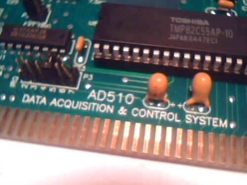 Real Time Devices RTD AD510 DAQ Control Analog ISA Card