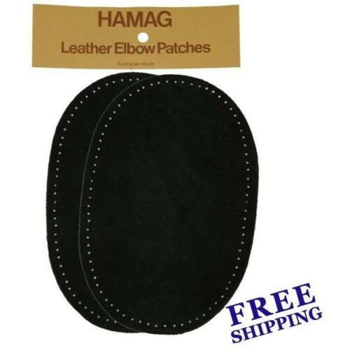 Hamag Suede Leather Elbow Knee Patches Pair