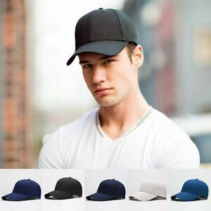 81258a8e3 Details about New Men Blank Plain Snapback Hats Unisex Hip-Hop Adjustable  Bboy Baseball Caps I