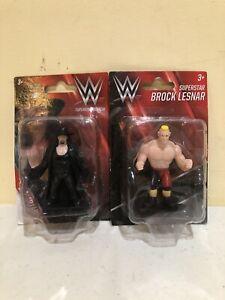 WWE Superstar Undertaker & Brock Lesnar Mini Figures Cake Topper Party Favors