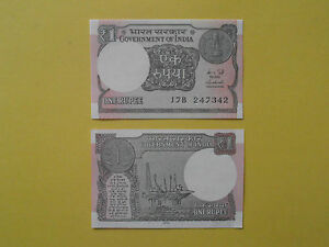 Billet-de-1-rupee-de-l-039-Inde