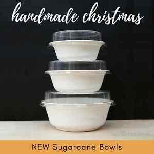 x25-SUGARCANE-BOWLS-biodegradable-and-compostable-CLEAR-PET-LIDS-choose-size