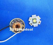 30W 20mm SST-90 3000k Luminus PhlatLight Led Light Lamp + DC3V~18V 7A LED Driver