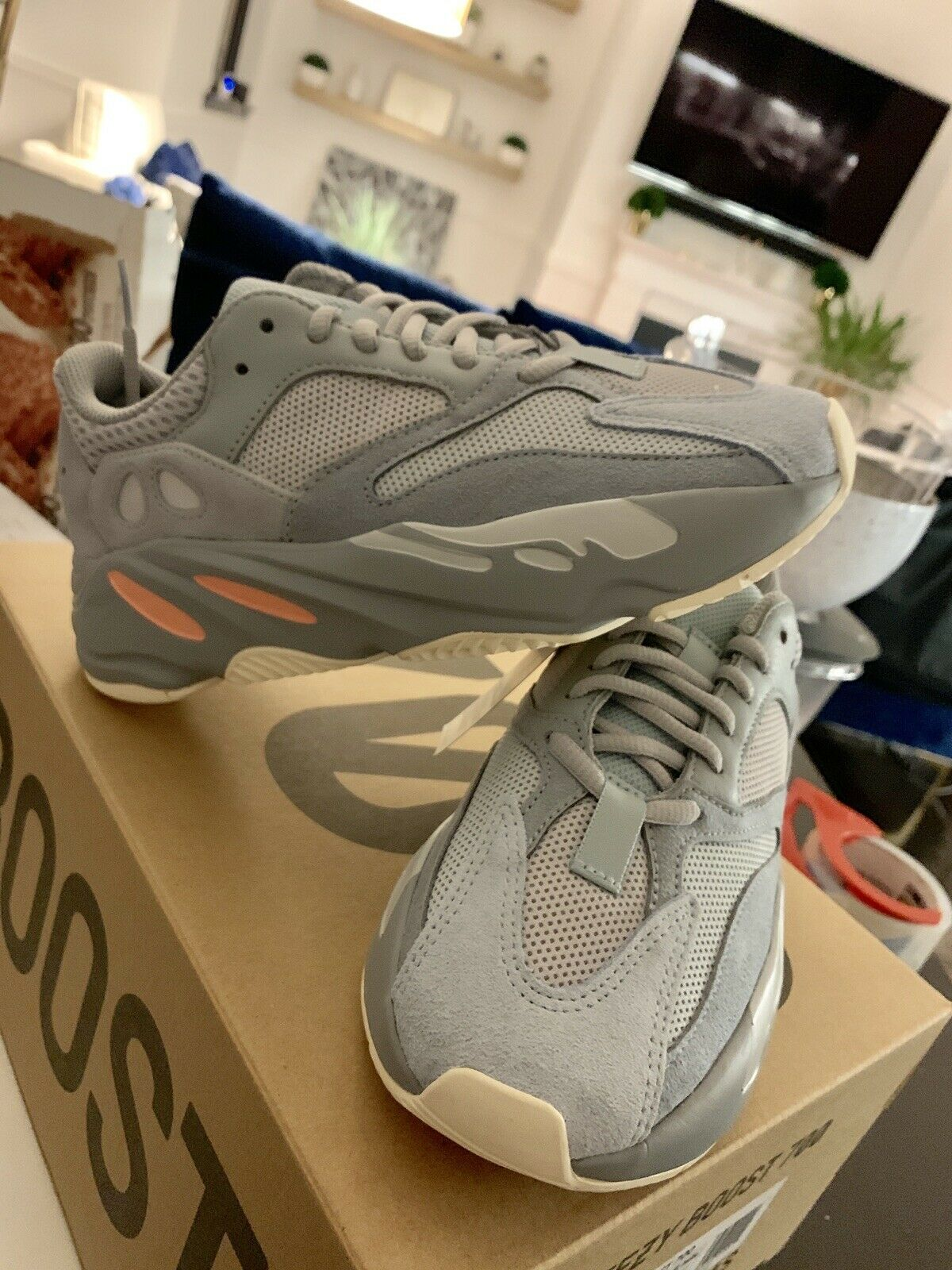 Adidas Yeezy Boost 700  Inertia  Size 4.5 (In Hand) New In Box