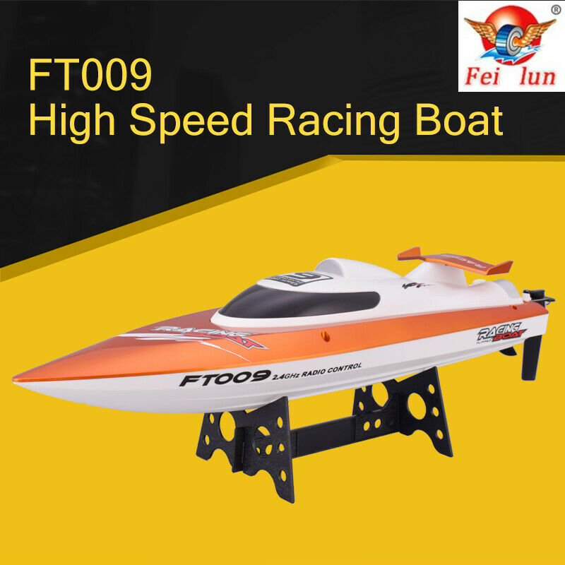 Feilun FT009 2.4G 4CH  30km h RC Boat With Rectifying divertimentoction Water Cooling  vendita di fama mondiale online