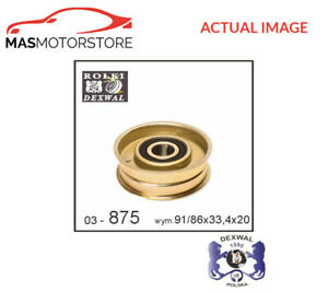 V-RIBBED-BELT-TENSIONER-PULLEY-DEXWAL-03-875-P-NEW-OE-REPLACEMENT