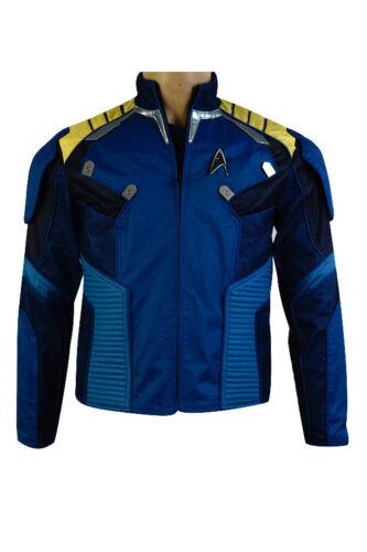 Star Trek Beyond Captain Kirk Cosplay Costume Commander Battle Blue Jacket Hot