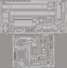Eduard 1/35 PHOTO-ETCHED DETAIL SET PER VULCAN British LUCE SERBATOIO Mk.VI B # 56008