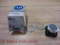 Allen Bradley 800t-a4p 800ta4p Flush Push Button Ser F Gray Series F
