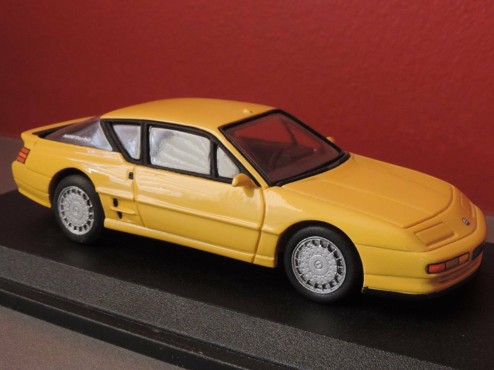 Voiture miniature Renault Alpine A610 fabricant GTS 1 43