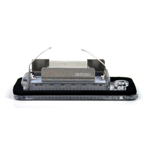 Premium LED iluminación de la matrícula audi q7 a4 s4 b6 b7 8e a6 s6 4f c6 a3 8p 804